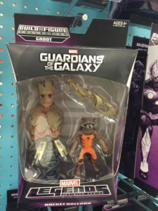 Guardians of the Galaxy Rocket Raccoon Marvel Legends Figure Reissue