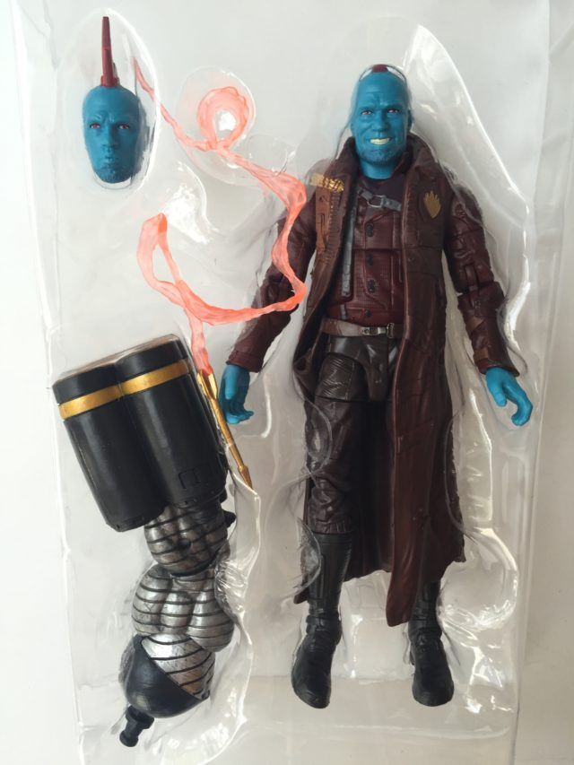 Hasbro Marvel Legends 2017 Yondu Figure and Accessories