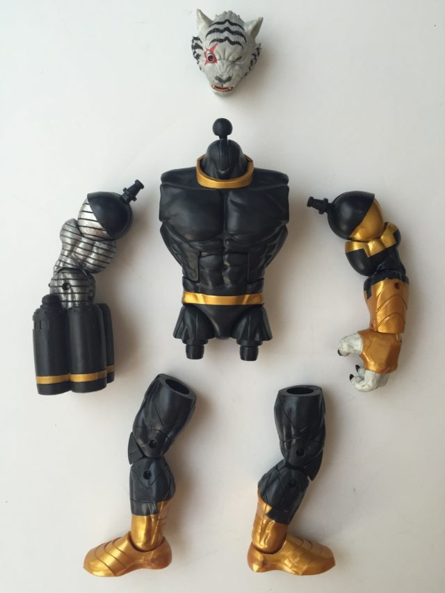 Marvel Legends Titus Build A Figure Pieces Unassembled