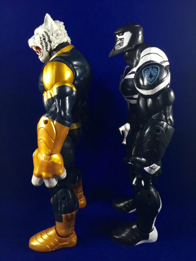 Marvel Legends Space Venom & Titus BAF Comparison Photo