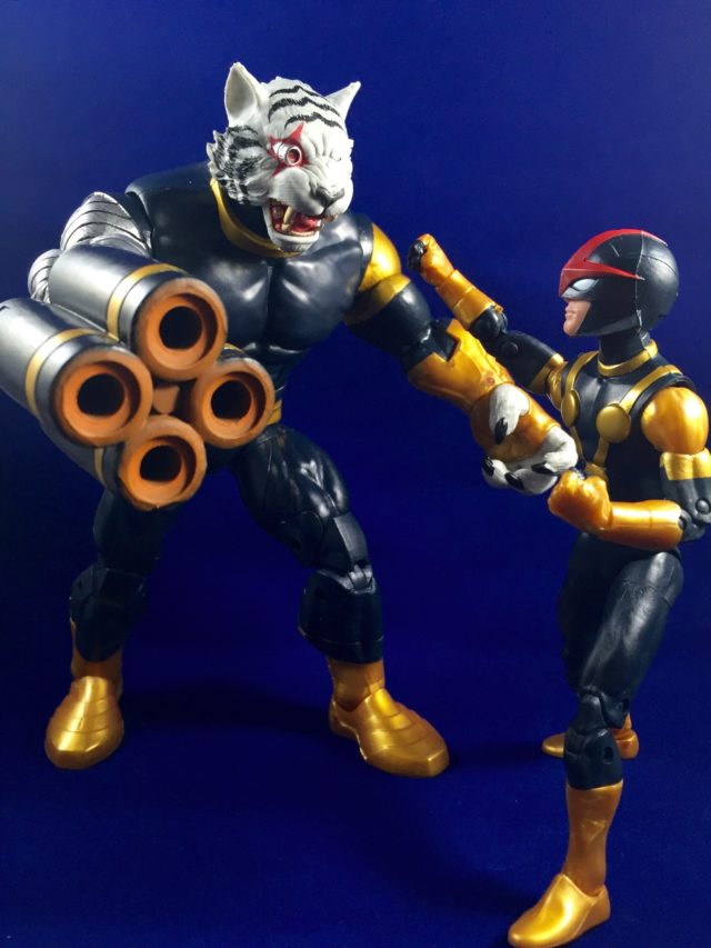 "Marvel Legends Nova vs. Titus 6"" Action Figures"