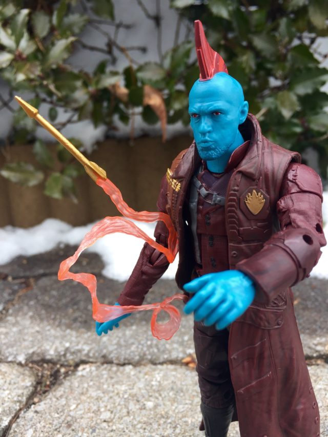 GOTG Marvel Legends Yondu Figure Head with Mohawk