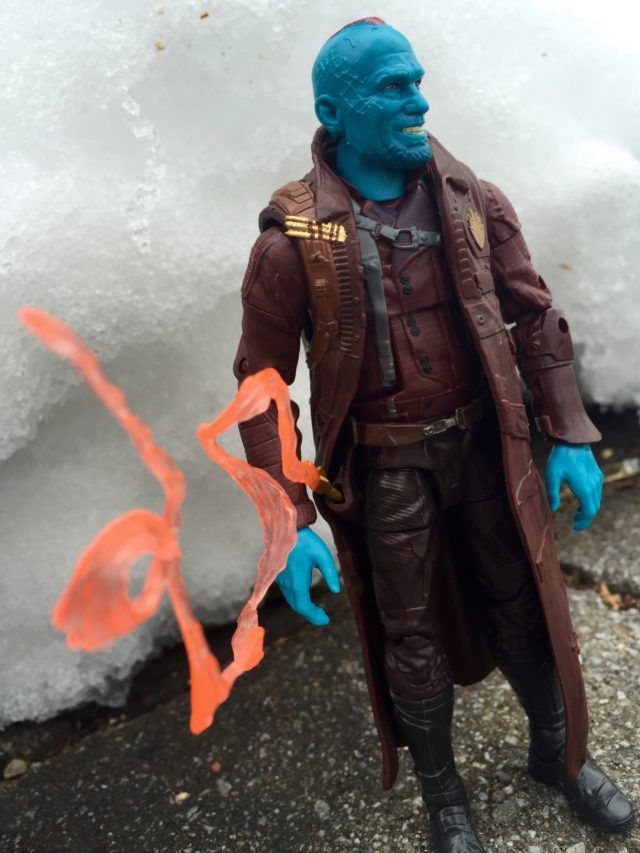 "Yondu Marvel Legends 6"" Figure With Arrow in Holster"