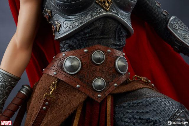 Jane Foster Thor Premium Format Figure Belt Detail