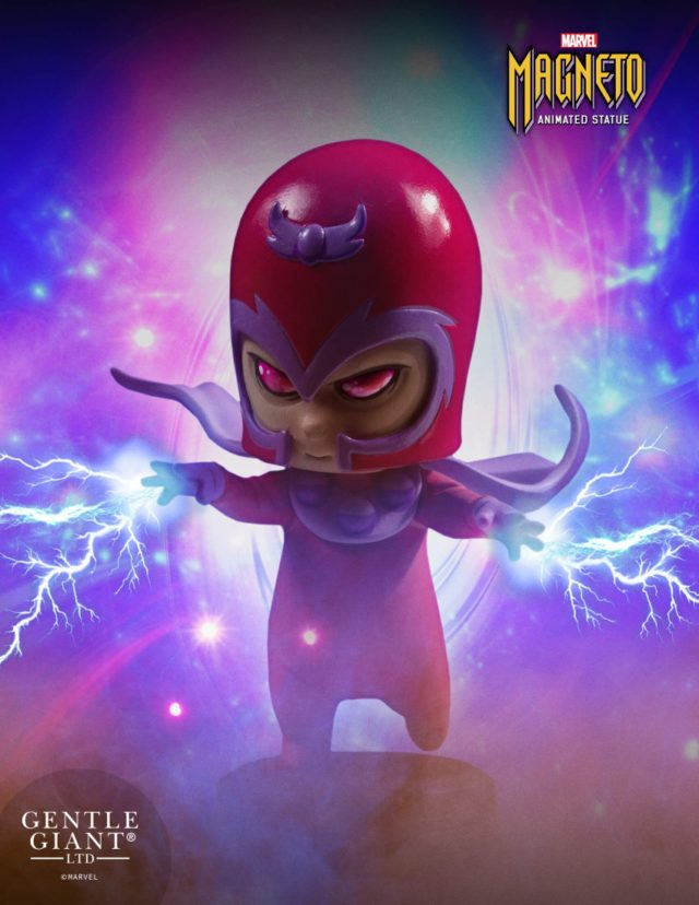 Marvel Animated Magneto Statue Skottie Young