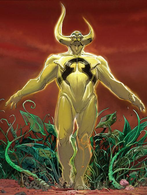 Marvel Comics Ex Nihilo Artwork