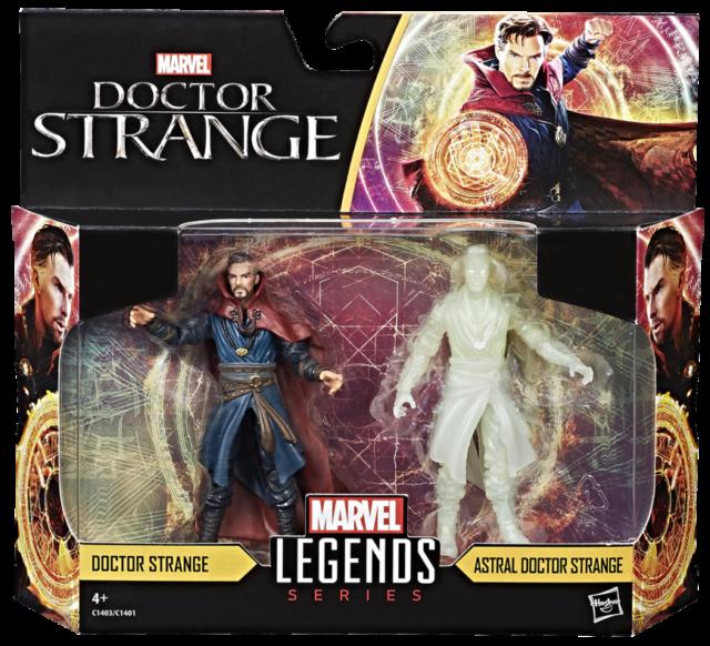 Marvel Legends Doctor Strange Movie Figures Two Pack Packaged