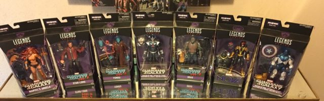 Marvel Legends GOTG Vol 2 6 Inch Figures Released