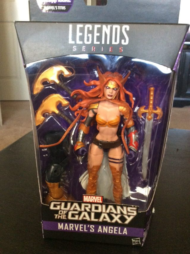 Marvel Legends Guardians of the Galaxy Angela Figure Released