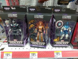 Marvel Legends Guardians of the Galaxy Figures Released Early
