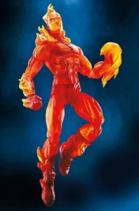 Marvel Legends Human Torch Toy Fair 2017 Walgreens Exclusive