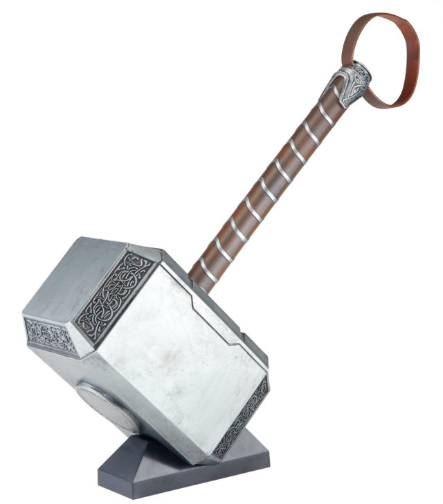 Marvel Legends Mjolnir Hammer Prop Replica