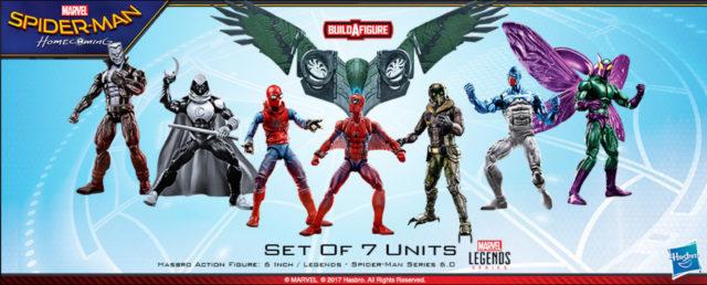 Marvel Legends Spider-Man 2017 Wave 2 6 Inch Figures