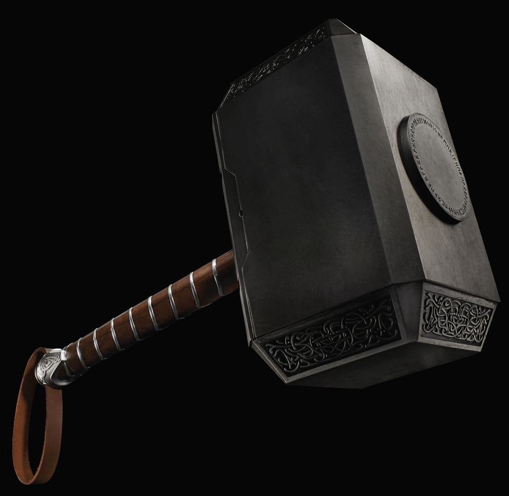 Mjolnir Dog Toy