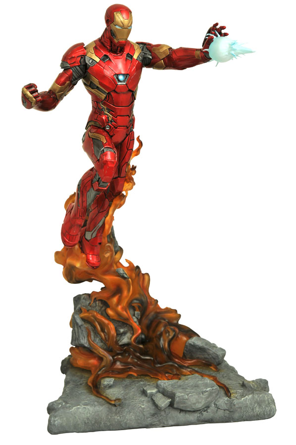 Marvel Premier Collection Civil War Iron Man Statue DST