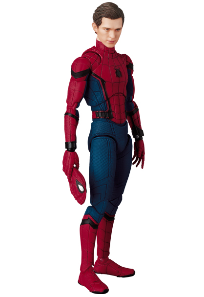 Medicom Spider-Man Homecoming MAFEX Figure Unmasked