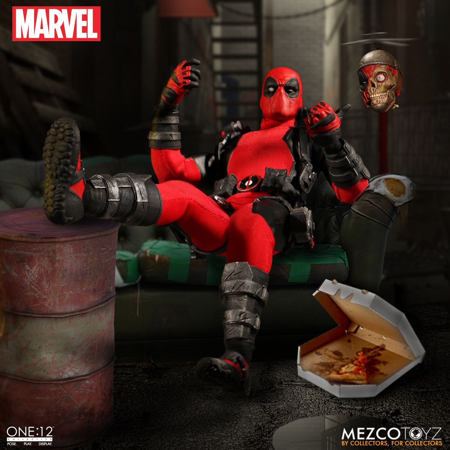 Mezco exclusive one 12 collective deadpool up for order for Headpool