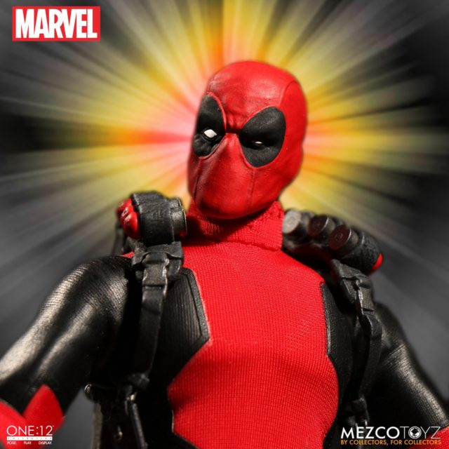 Mezco Deadpool Interchangeable Squinting Head