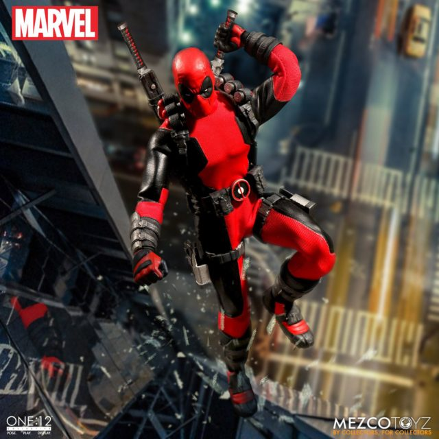 Mezco One12 Collective Deadpool Six Inch Figure