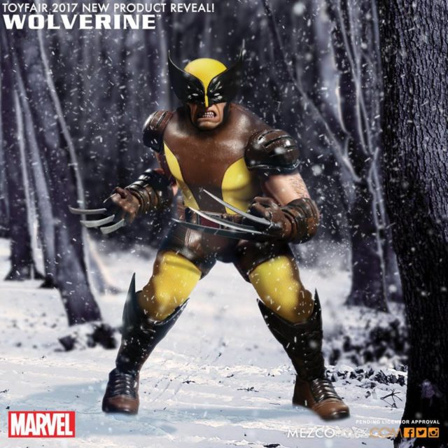 Mezco Pre Toy Fair 2017 Wolverine ONE12 Collective Figure Official