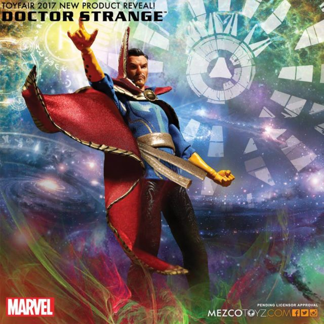 ONE 12 Collective Doctor Strange Mezco Figure Pre Toy Fair 2017