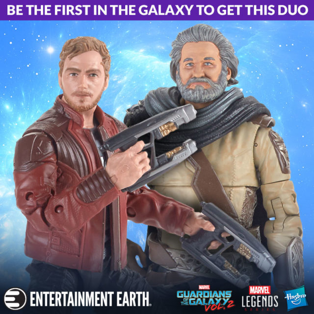 Order Marvel Legends Ego & Star-Lord Figures Pack