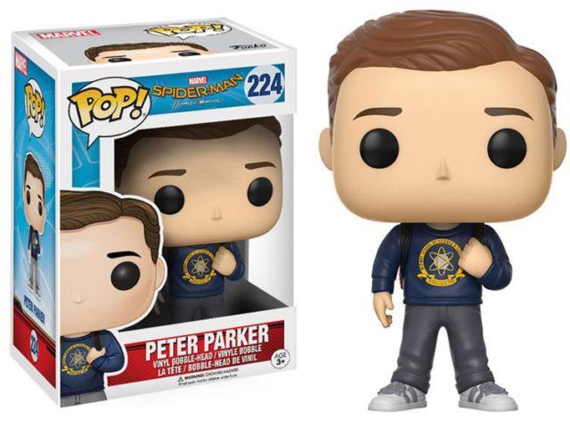 Peter Parker Funko POP Vinyl Spider-Man Homecoming