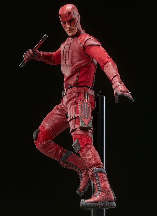Sideshow Collectibles Daredevil Sixth Scale Figure with Display Stand