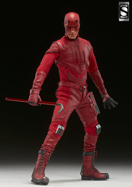 Sideshow Exclusive Daredevil with Transforming Walking Stick Cane