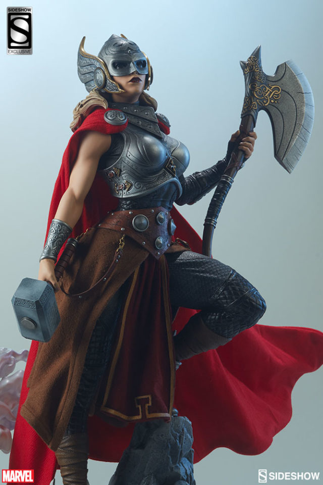 Sideshow Exclusive Lady Thor Axe Jarnbjorn Accessory