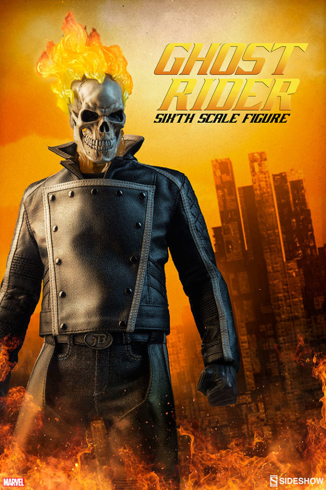 Sideshow Ghost Rider Sixth Scale Figure