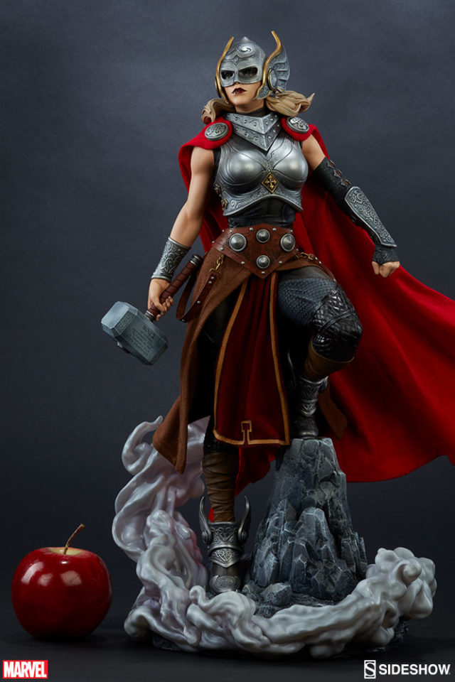 Sideshow Jane Foster Thor Statue Scale Photo Quarter Scale Figure
