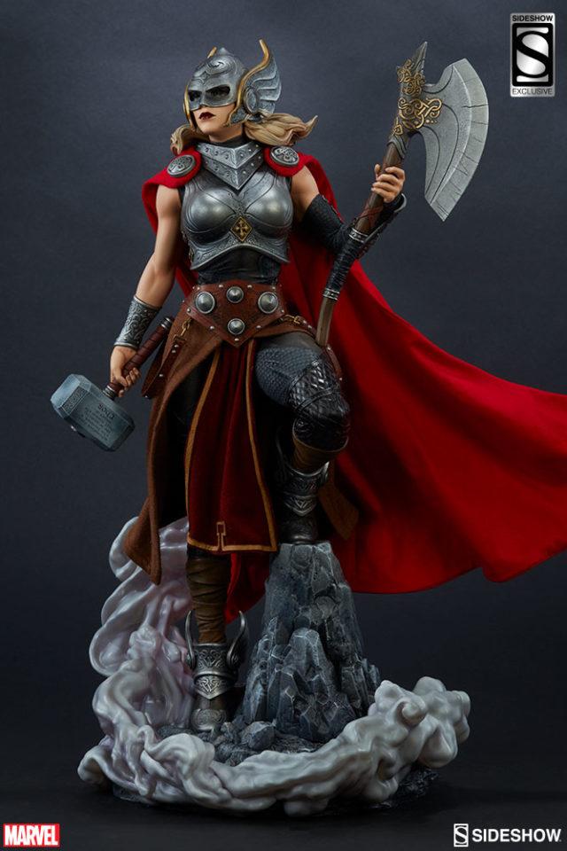 Sideshow Thor Exclusive Jane Foster Jarnbjorn Axe Bonus Accessory