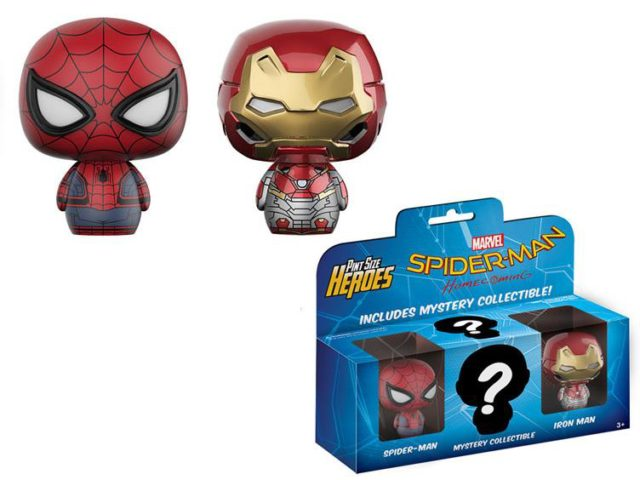 Spider-Man Homecoming Pint Size Heroes Three Pack