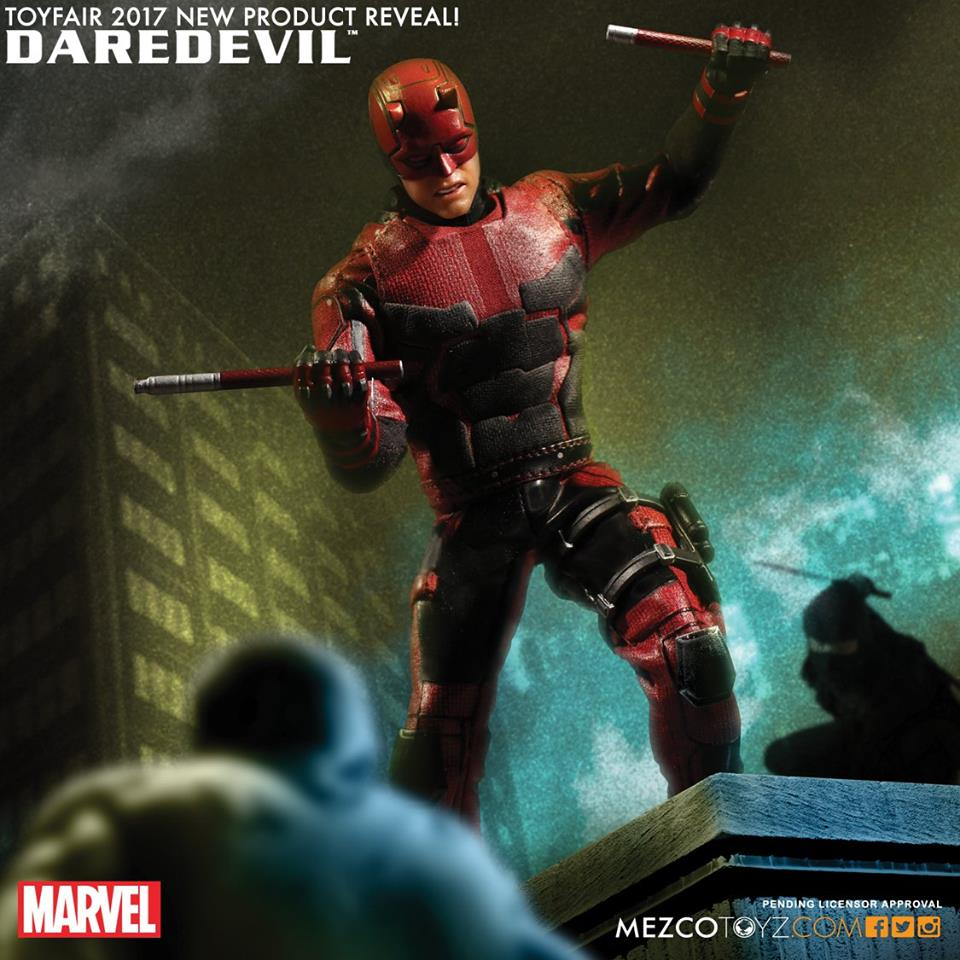 Mezco One:12 Collectif Marvel Netflix Daredevil Action Figure