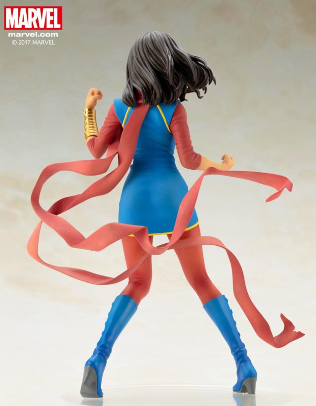 Back of Koto Bishoujo Ms Marvel Statue 2017