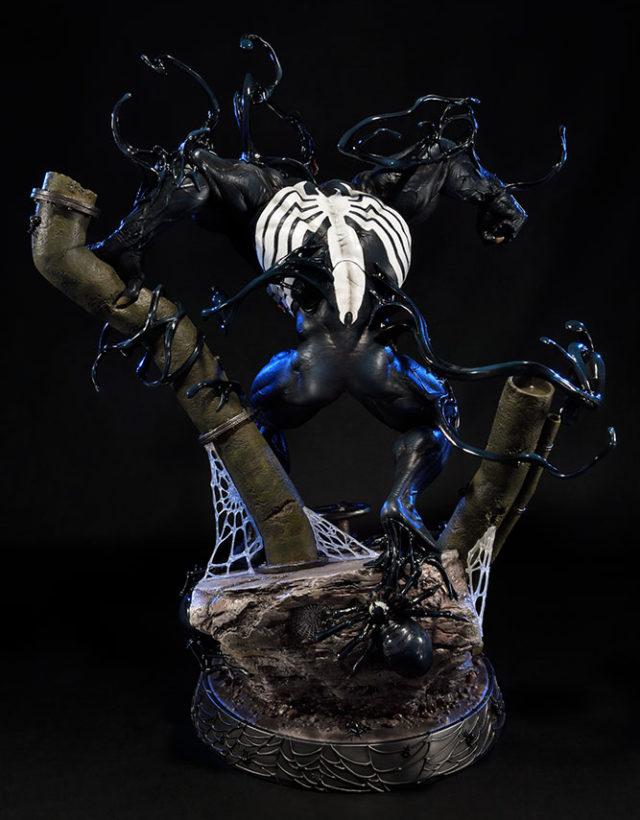 Back of Prime 1 Studio Venom Statue