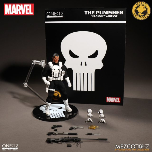Classic Variant Punisher ONE 12 Collective Figure and Accessories