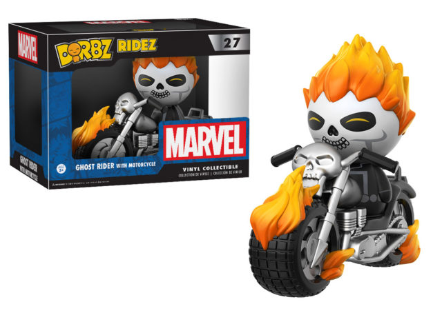 Funko Dorbz Ghost Rider with Motorcyle Figure Set