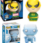 Exclusive Funko Dorbz Iron Fist & Iceman POP Vinyl Up for Order!