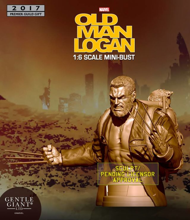 Gentle Giant Old Man Logan Mini Bust Exclusive