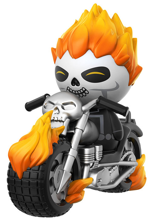 Ghost Rider with Motorcycle Dorbz Ridez Set 27