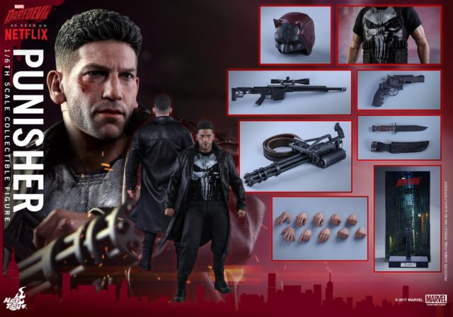 Hot Toys Punisher Figure and Accessories
