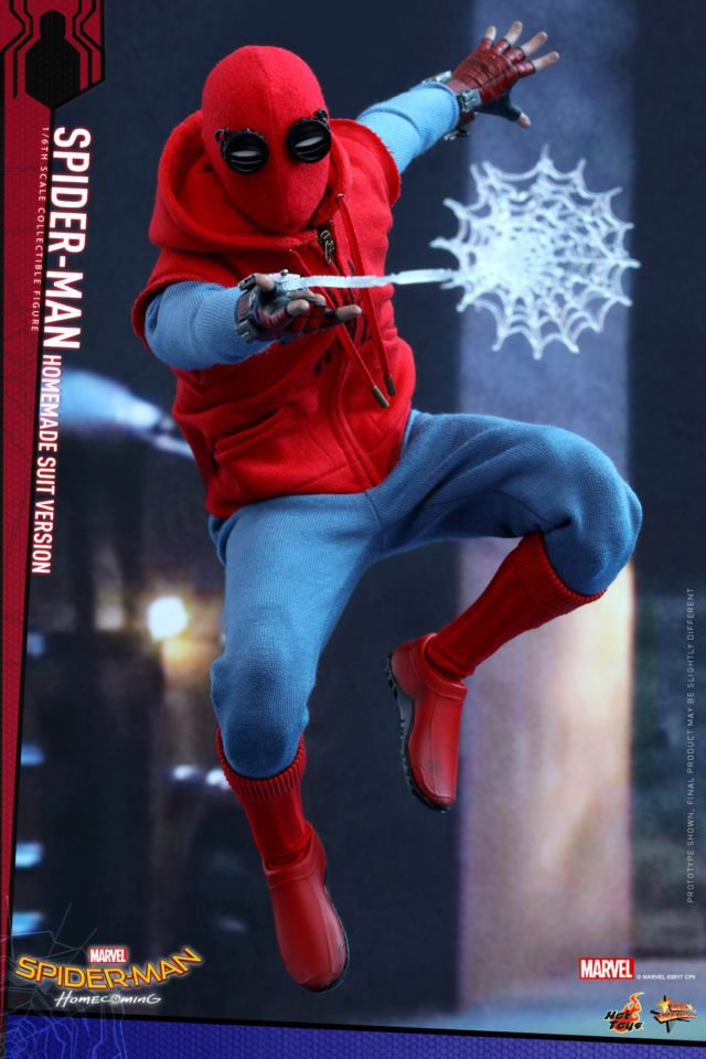 Hot Toys Spider-Man Homemade Suit Version Sixth Scale Figure