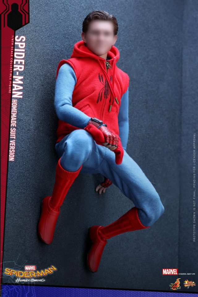 Hot Toys Spider-Man Tom Holland Portrait Unmasked Head Peter Parker