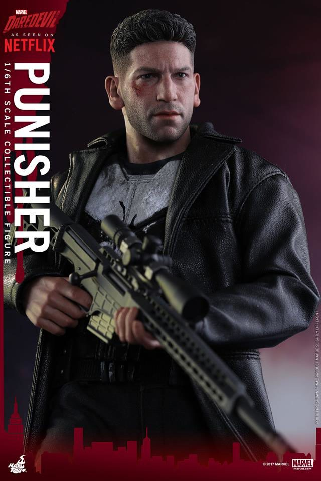 Hot Toys The Punisher Netflix 12 Inch Figure