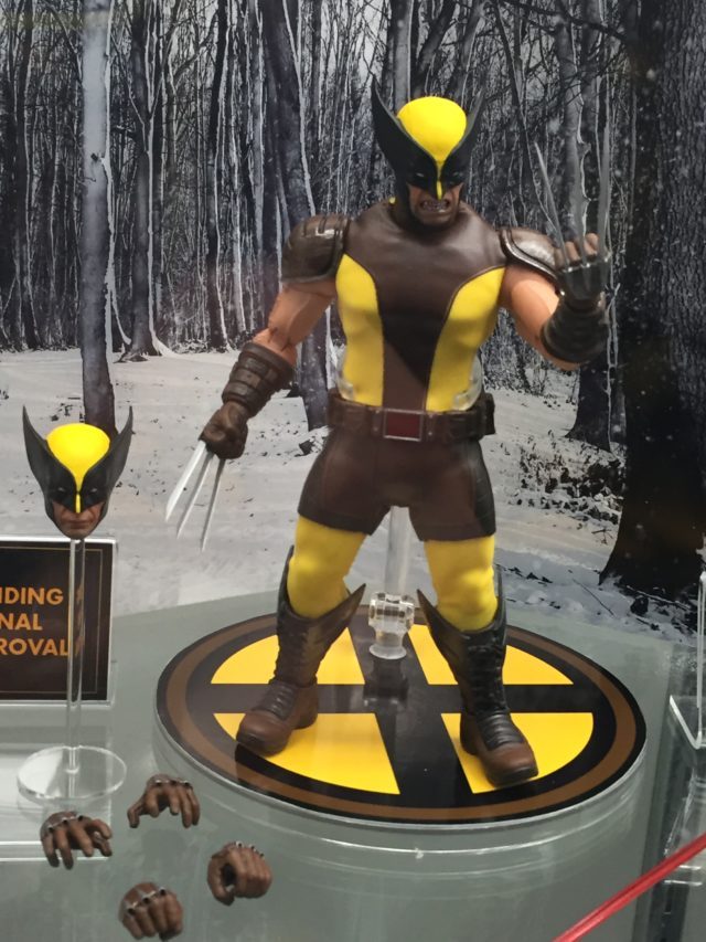 Toy Fair 2017 Mezco ONE 12 Collective Wolverine Figure