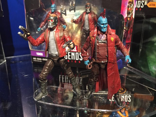 "2017 Toy Fair Hasbro GOTG Vol. 2 Marvel Legends 4"" Yondu Star Lord"