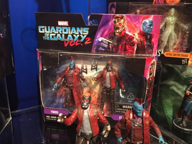 "Marvel Legends 4"" Guardians of the Galaxy Two-Pack Yondu Star-Lord"