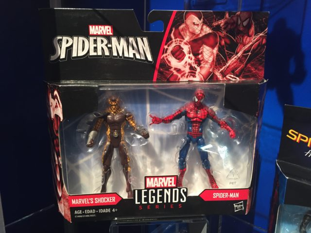 "Marvel Legends Shocker vs. Spider-Man Two-Pack 3.75"" Toy Fair 2017"